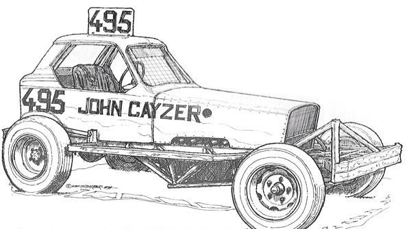 John Cayzer 495 car 1979 - Golden Oldie