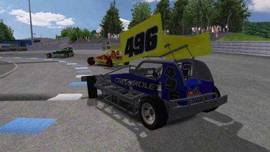 F1 tarmac car