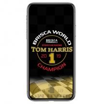 1-tom-harris-f1-stock-car-racing-world-champion-2019-phone-case