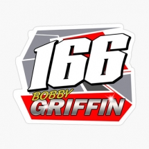 166-bobby-griffin-brisca-f1-name-number-2021-sticker