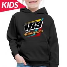 183 Charlie Guinchard Brisca F2 kids hoodie