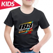 183 Charlie Guinchard Brisca F2 kids tshirt