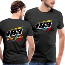 183 Charlie Guinchard Brisca F2 tshirt front & back