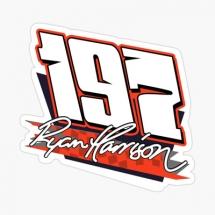 197 Ryan Harrison Brisca F1 sticker