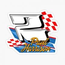 2 Paul Harrison Brisca F1 Stock Car Racing sticker