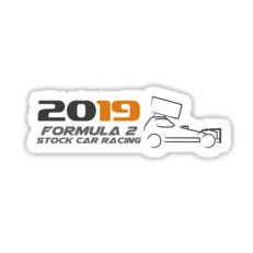 2019 Brisca F2 Stock Car Racing Sticker