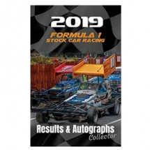 2019 F1 Stock Car Racing Results & Autographs Collector Book
