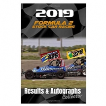 2019 F2 Stock Car Racing Results & Autographs collector book