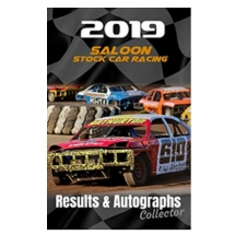2019 Saloon Stock Car Racing Results & Autographs collector book