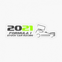 2021 Brisca F1 Track List Sticker