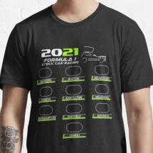 2021 Brisca F1 Track List T-Shirt