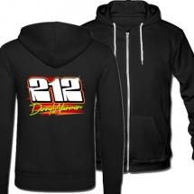 212 Danny Wainman Brisca F1 Stock Car Racing hooded jacket