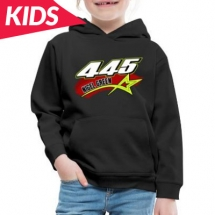 445 N Green Brisca F1 Kids Hoodie