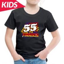 55 Craig Finnikin Brisca F1 Stock Car Racing 2021 kids clothes