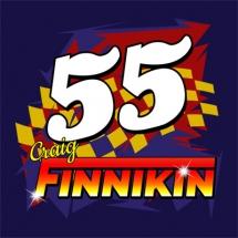 55 Craig Finnikin Brisca F1 Stock Car Racing
