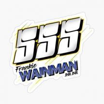 555 Frankie Wainman Jnr Jnr Brisca F1 Stock Car Racing 2000 sticker