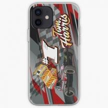 84, 1 Tom Harris Brisca F1 Stock Car Racing 2021 iPhone case