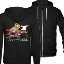84, 1 Tom Harris Brisca F1 Stock Car Racing 2021 hooded jacket