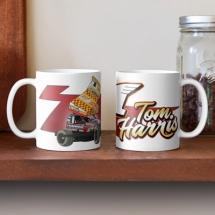 84, 1 Tom Harris Brisca F1 Stock Car Racing 2021 mug