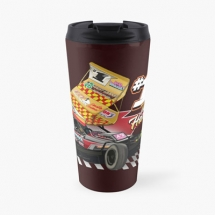 84, 1 Tom Harris Brisca F1 Stock Car Racing 2021 travel mug