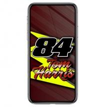 84-tom-harris-f1-stock-car-racing-phone-case