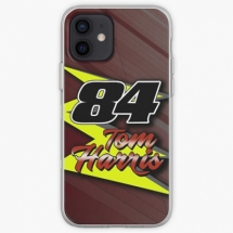 84-tom-harris-name-number-iphone-case