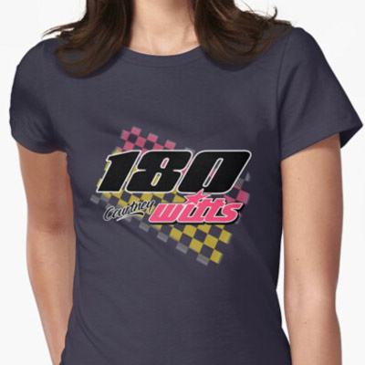 Courtney Witts 180 Brisca F1 2019 t-shirt