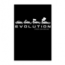 Evolution Stock Car Racing 1955-2020 Notebook