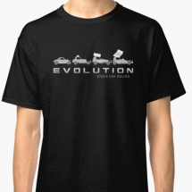 Evolution Stock Car Racing 1955-2020 T-Shirt