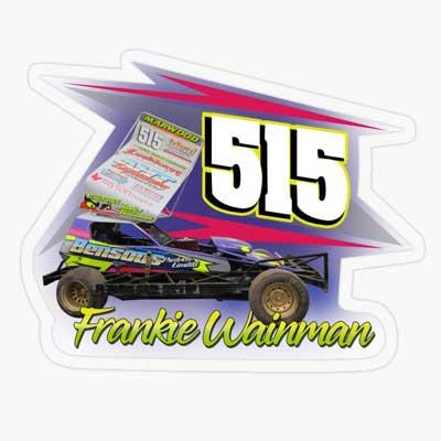 2019 Frankie Wainman 515 Sticker