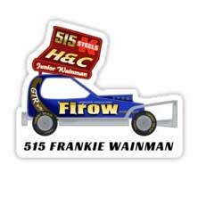 Frankie Wainman Jnr 515 2010 Car Sticker