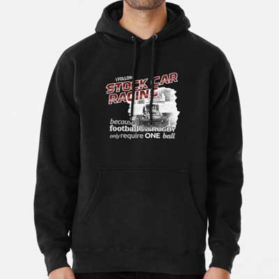 I follow Stock Car Racing Hoodie