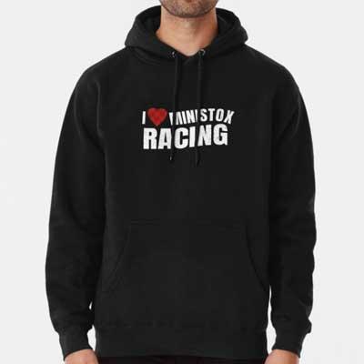 I love Ministox Racing Hoodie