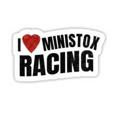 I love Ministox Racing Sticker