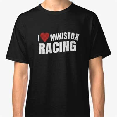 I love Ministox Racing T-Shirt
