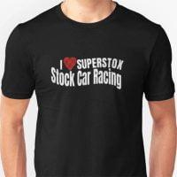 I love Superstox Stock Car Racing T-Shirt