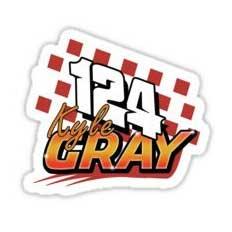 Kyle Gray 124 Brisca F1 2019 Sticker