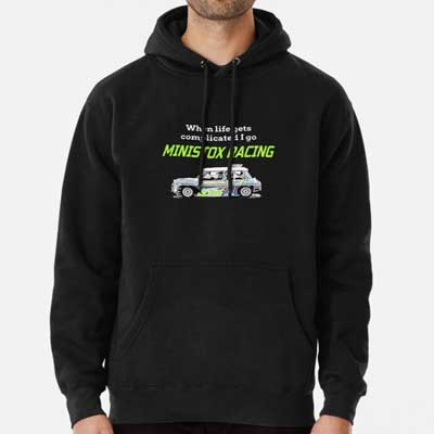 Life gets complicated race Ministox Hoodie