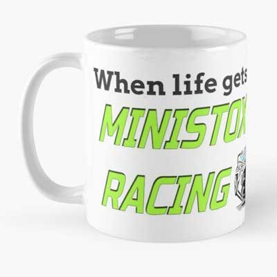 Life gets complicated race Ministox Mug