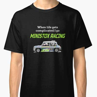 Life gets complicated race Ministox T-Shirt