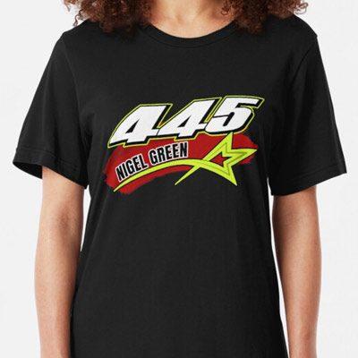 Nigel Green 445 Brisca F1 2019 t-shirt