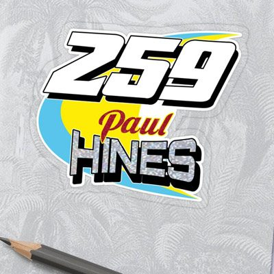 Paul Hines 259 Brisca F1 2019 sticker