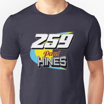Paul Hines 259 Brisca F1 2019 t-shirt