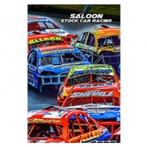 Saloon Stock Car Racing notebook