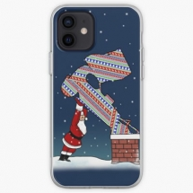 stock-car-christmas-delivery-iphone-case