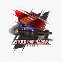 stock-car-racing-is-magic-sticker