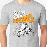 Stock Car Racing Retro Racing T-Shirt