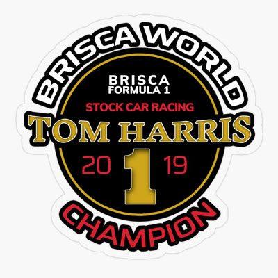2019 World Champion Tom Harris Sticker